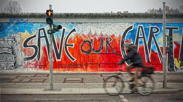 velo et mur de berlin