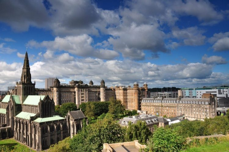 Glasgow en ecosse