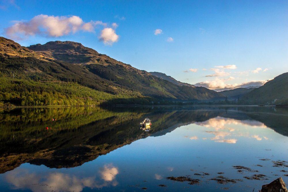 Loch lomond en ecosse