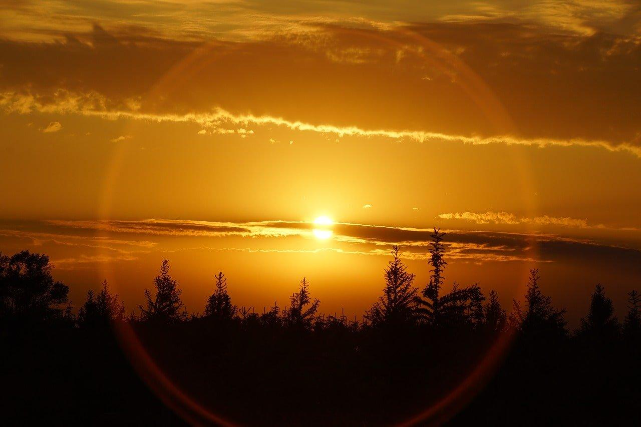 coucher de soleil odense