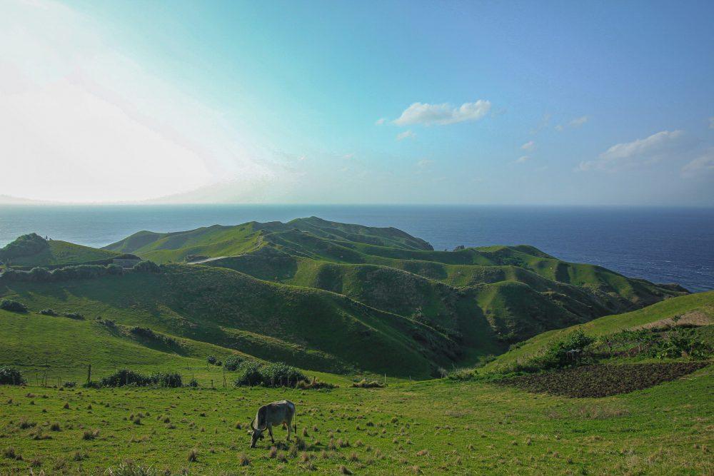 Montagnes paysage aux philippines