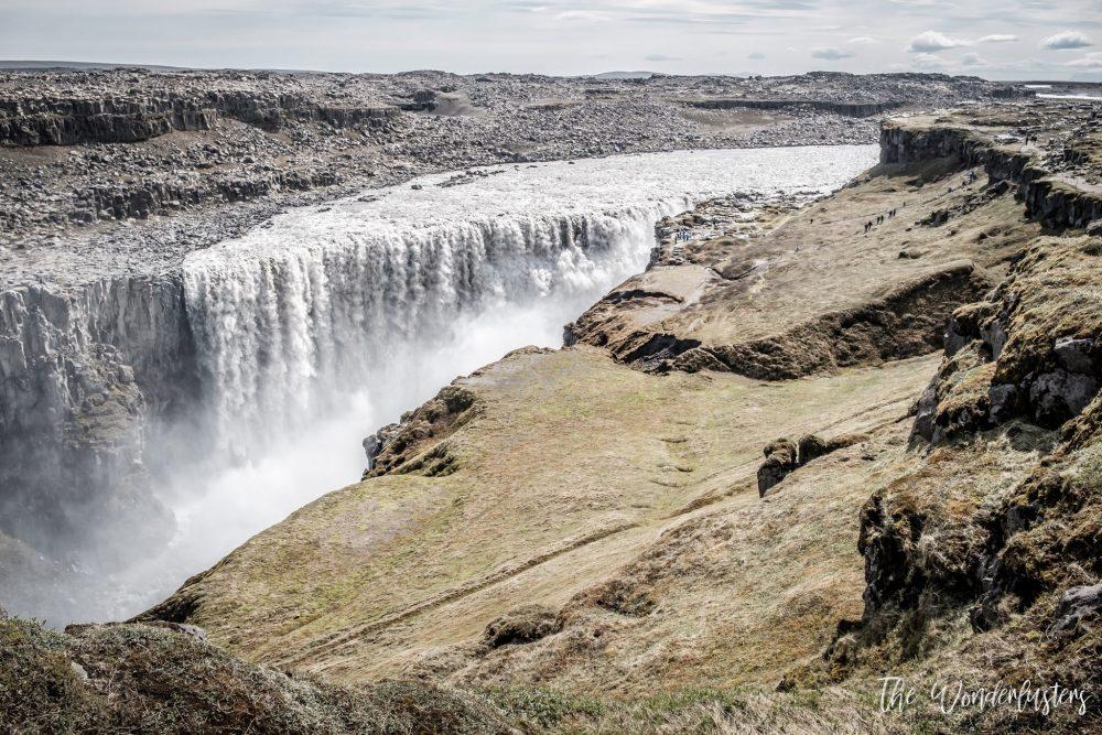 cascade dettifoss islande