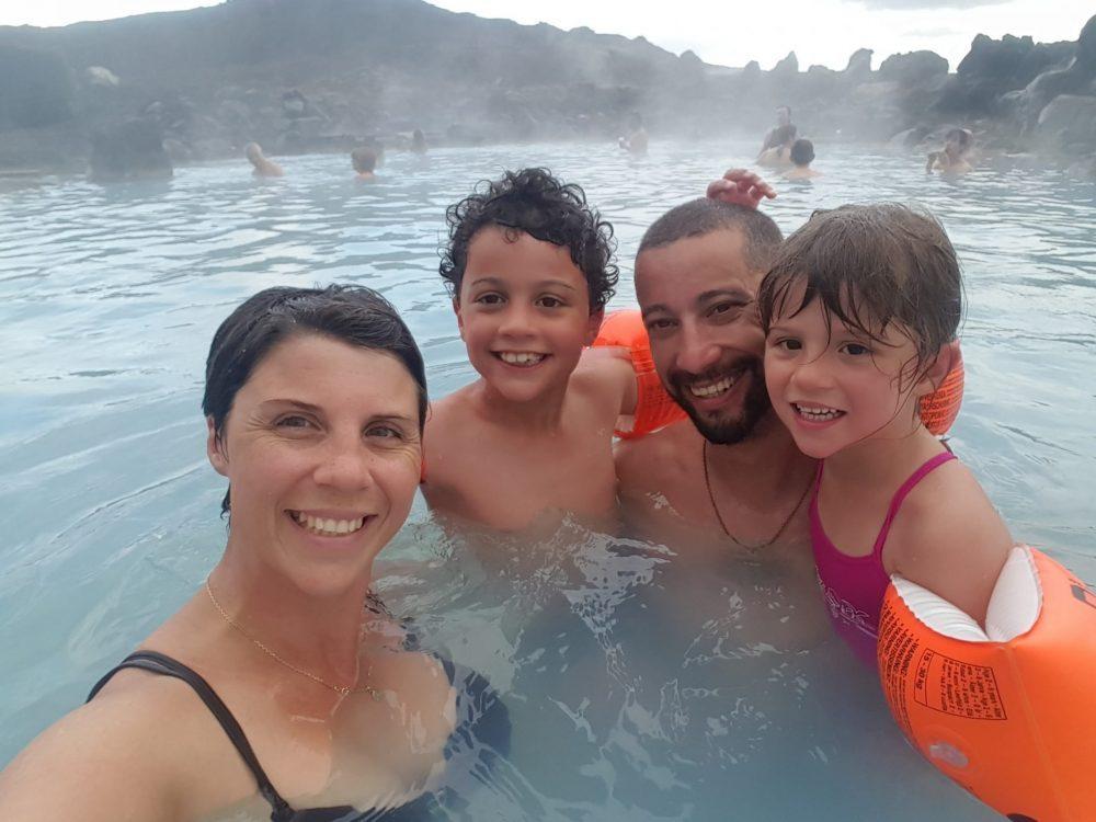 famille bain naturel