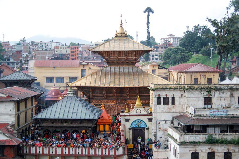 cérémonie hindou de Pashupatinath