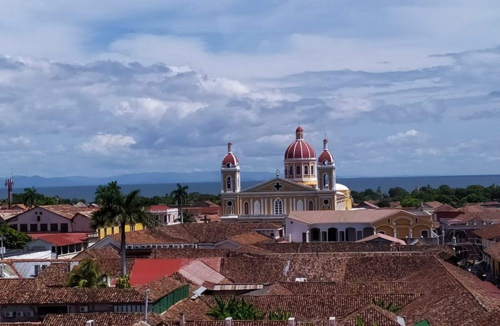 eglise et toit nicaragua