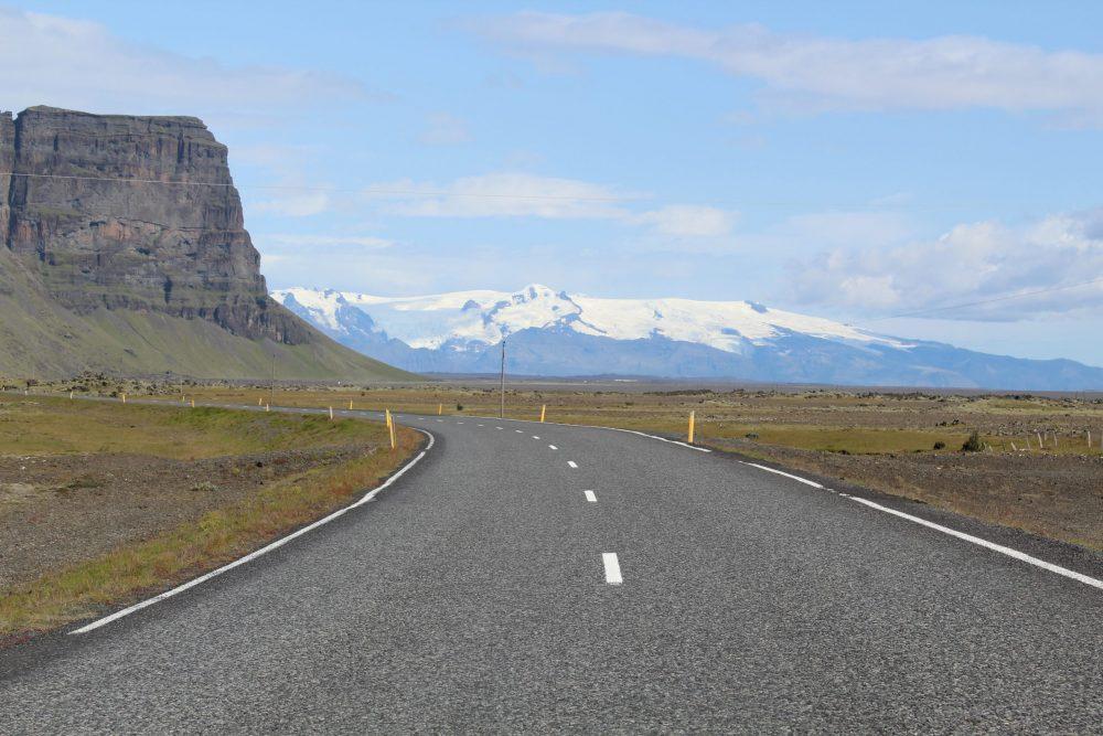 route islande glacier