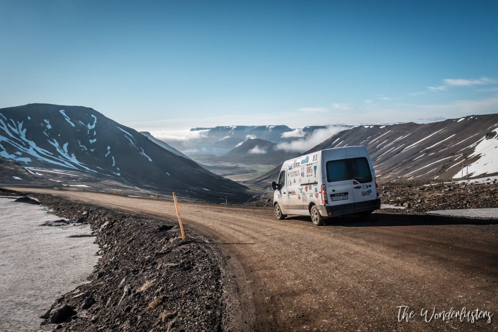 van islande montagne