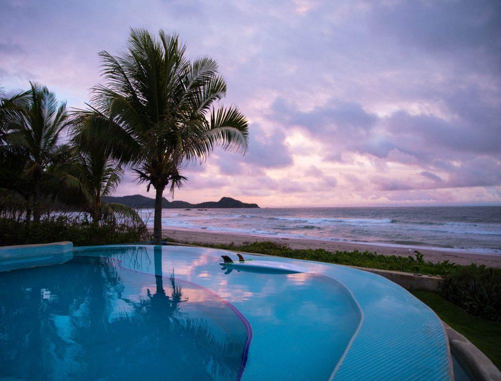 hotel au bord de la plage au nicaragua