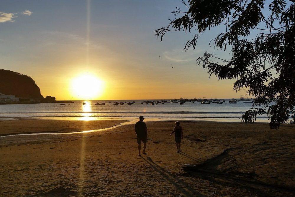 plage San-Juan-Del-Sur au nicaragua