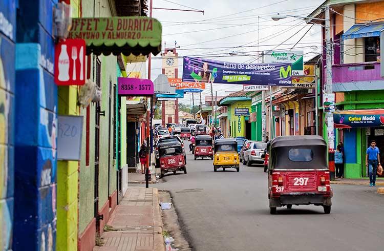Transport au nicaragua