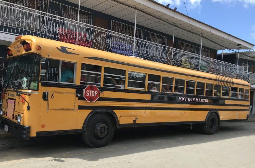 bus scolaire jaune americain nicaragua