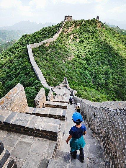 muraille de chine enfant