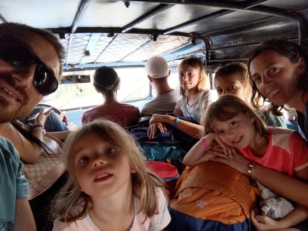 bus transport en colombie
