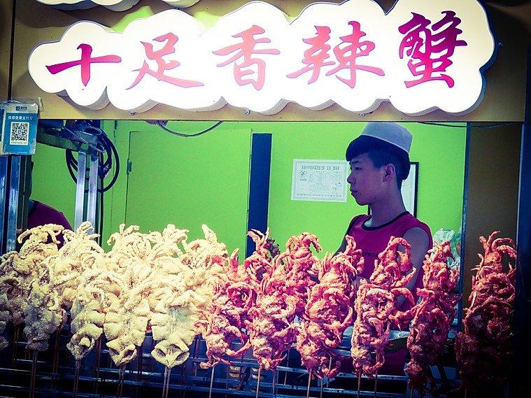 stand de nourriture chine