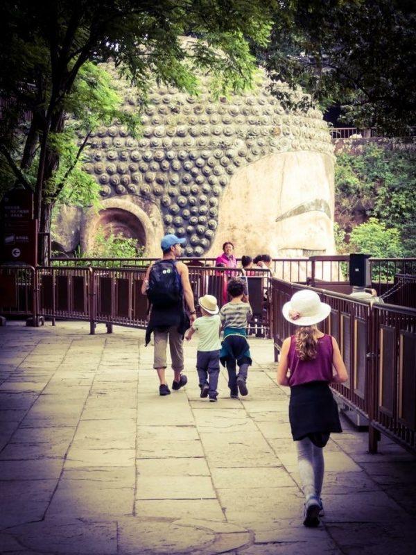 famille en chine
