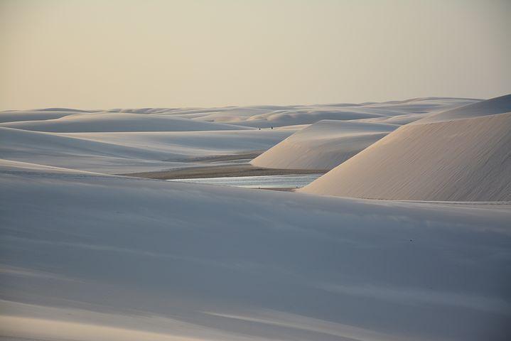 dune lagune desert lencois