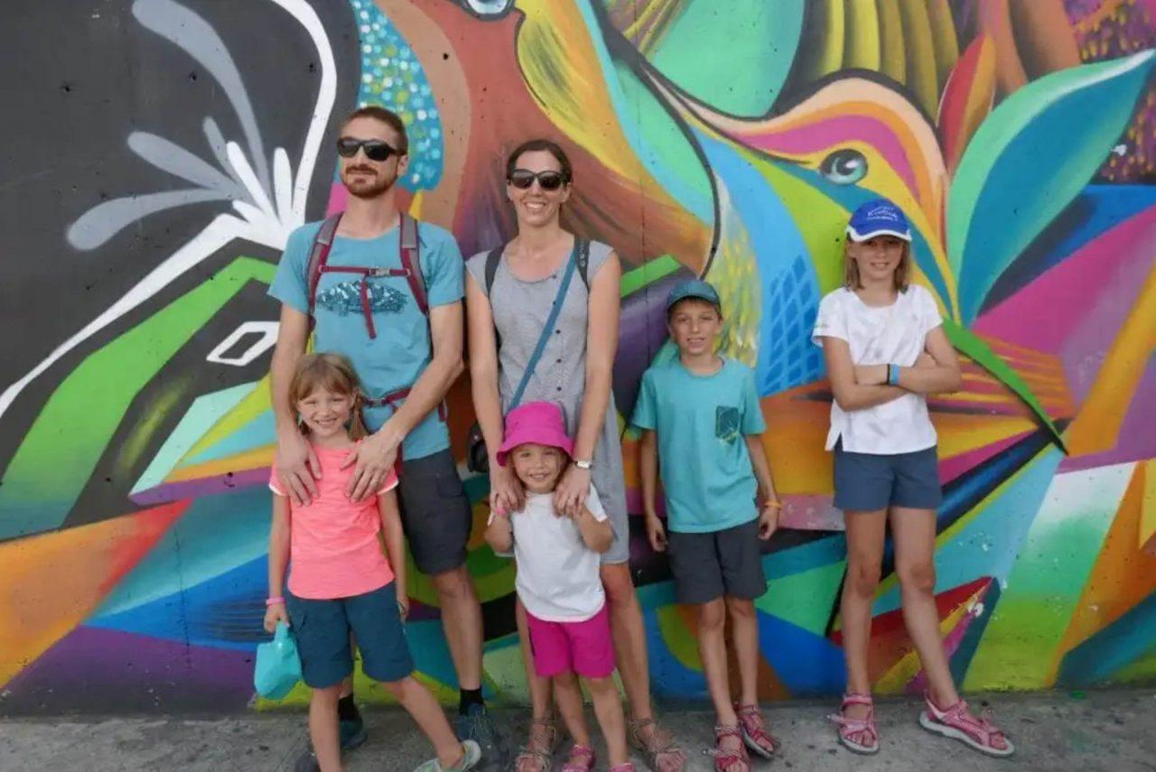 famille colombie 4 enfants