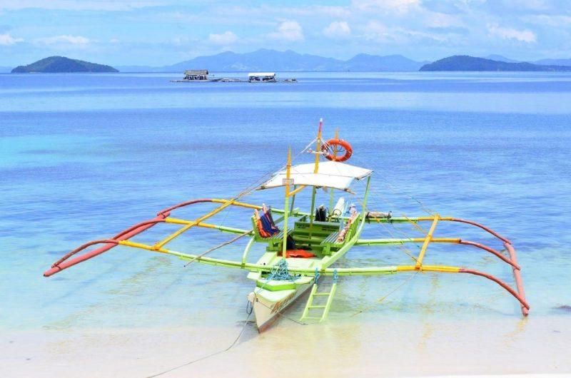 bateau transport aux philippines