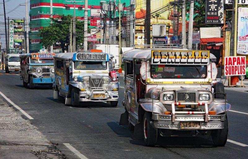 transport en bus aux philippines