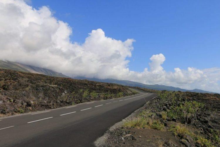 route sur l'ile de la réunion