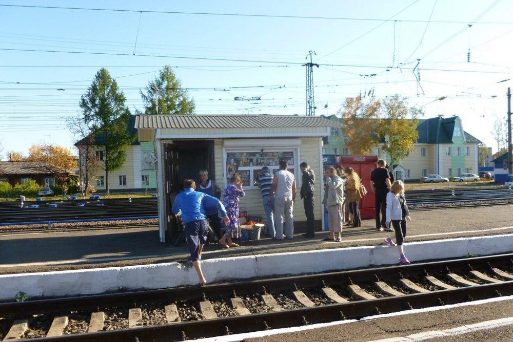 Prendre le train en russie en famille