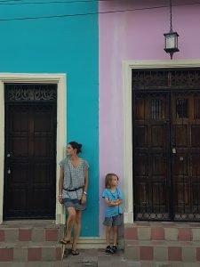 maisons colorées granda
