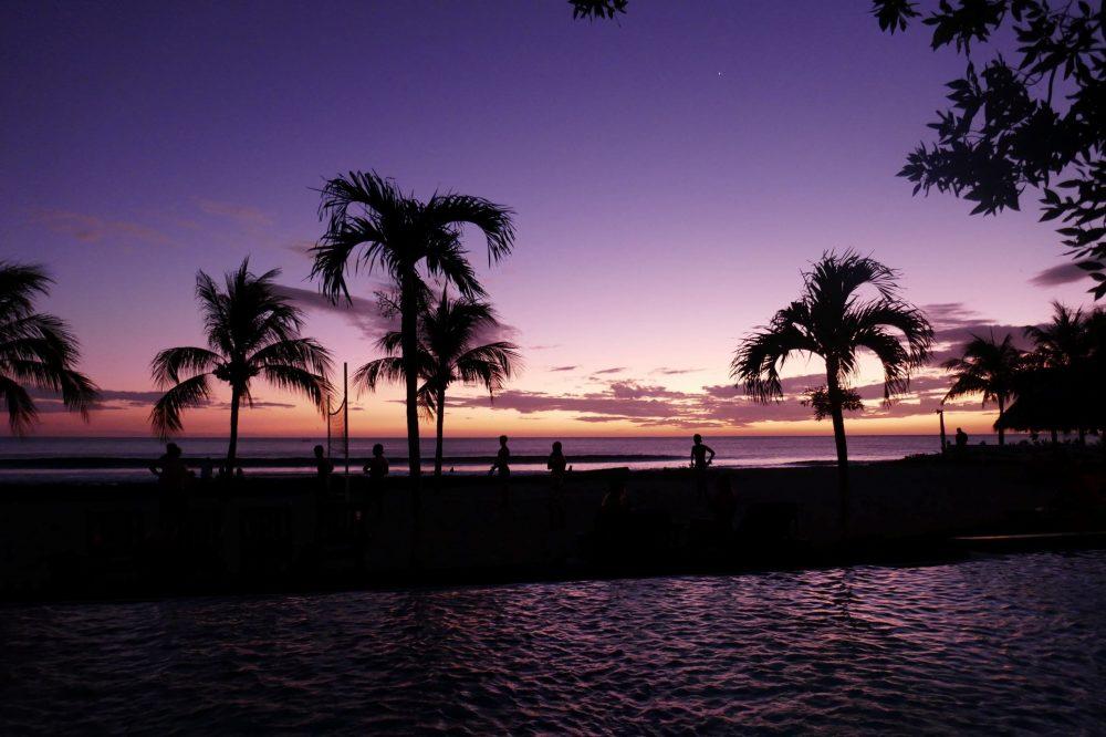 coucher soleil nicaragua plage