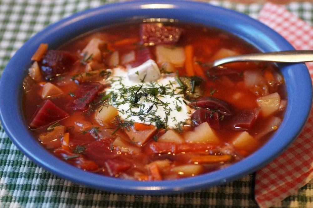 Bortsch soupe russe
