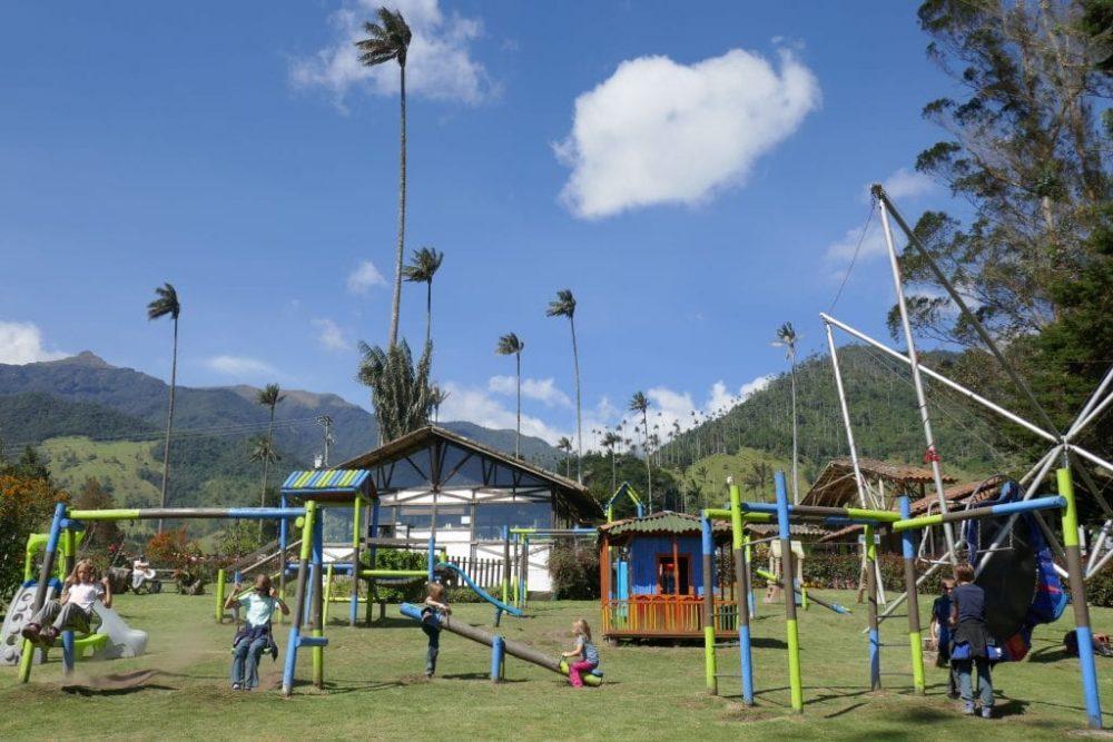 aire de jeux colombie