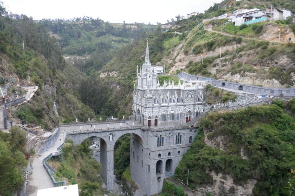 cathédrale las lajas colombie