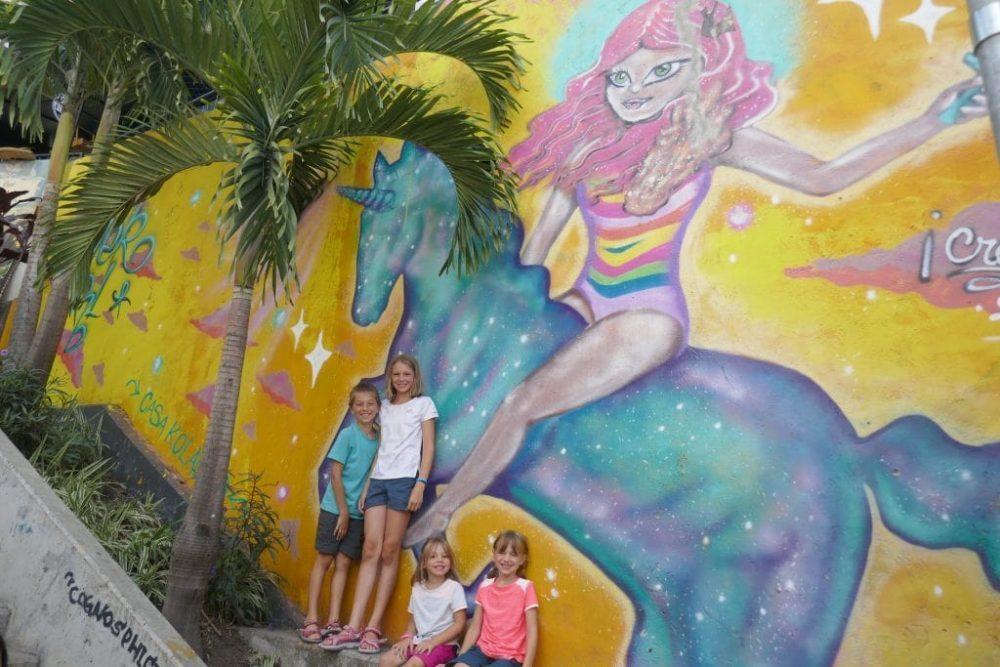 medelin street art colombie