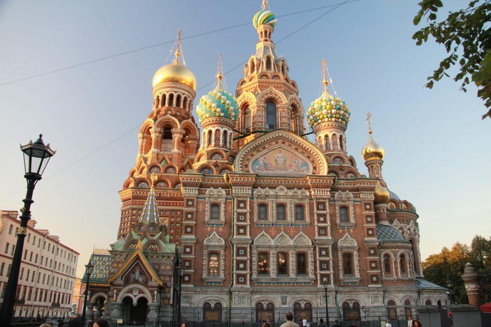 eglise saint Pétersbourg