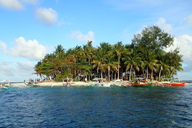 Island hopping Siargao aux philippines