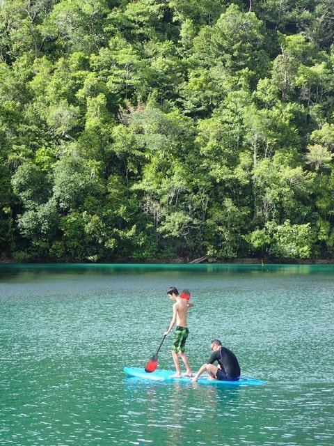 Sugba lagoon voyage aux philippines en famille
