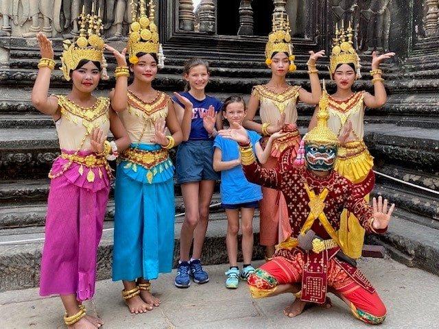 temple d'angkor en famille voyage
