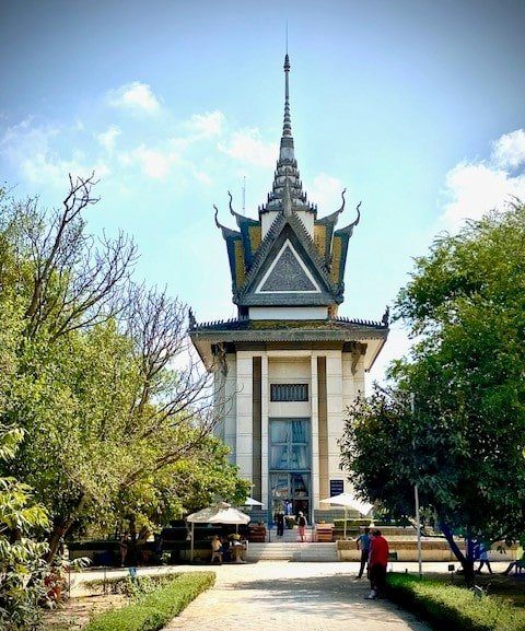 Temple nature au Cambodge