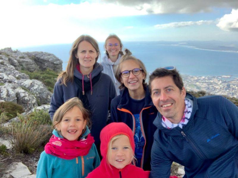Capetown en afrique du sud en famille