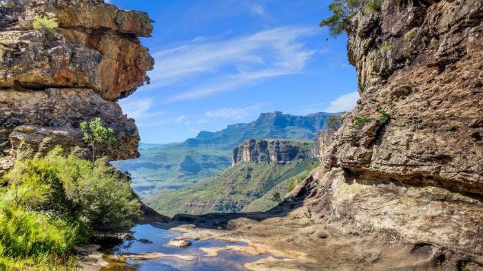 Drakensberg en afrique du sud
