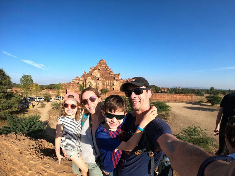 voyage au myanmar d'une famille de 4