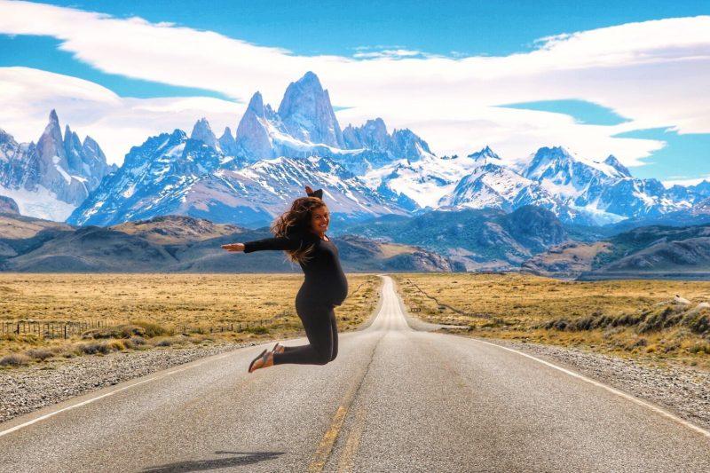 femme enceinte en patagonie fitz roy