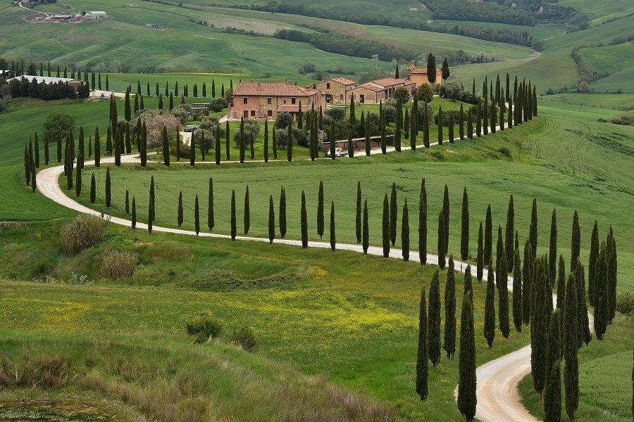 Paysage nature en italie