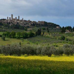 Village toscane en italie