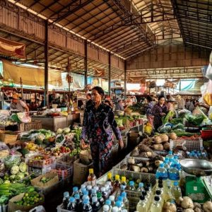 Kampot Cambodge marché