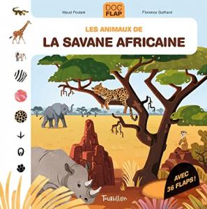 livre Les animaux de la savane africaine