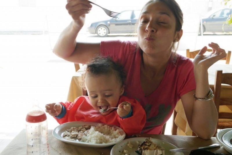 que manger en grece avec un enfant