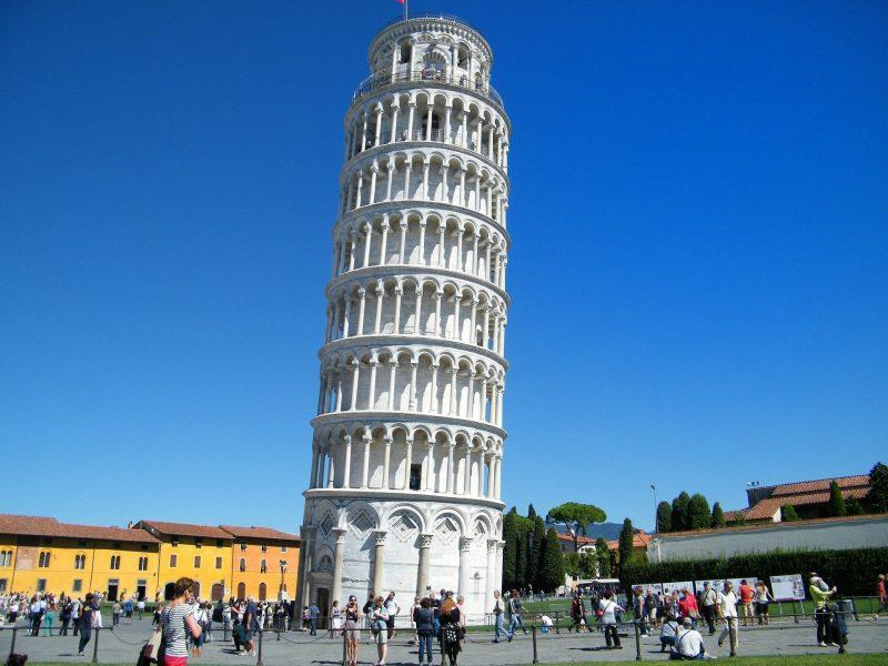 Tour de Pise en italie toscane