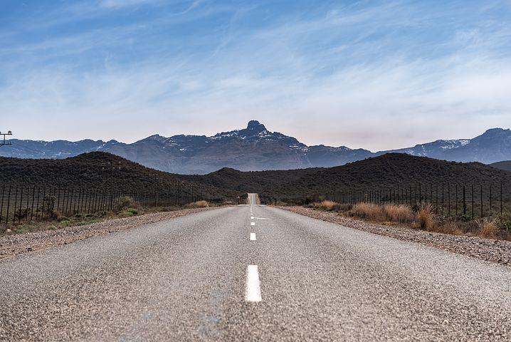 Route en afrique du sud