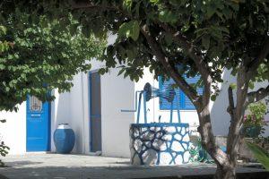 Village cyclade en grèce