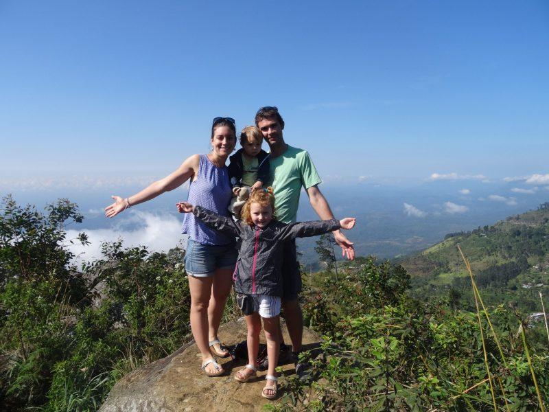 sri lanka avec deux enfants