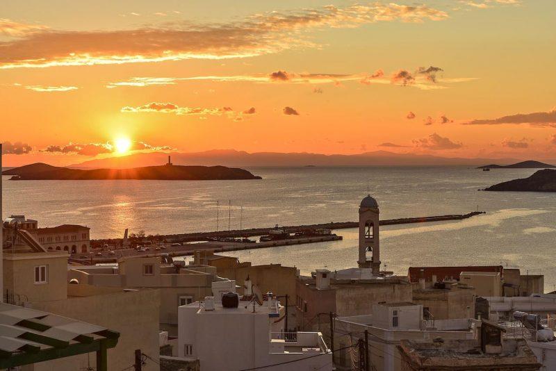 Syros cyclades en grèce